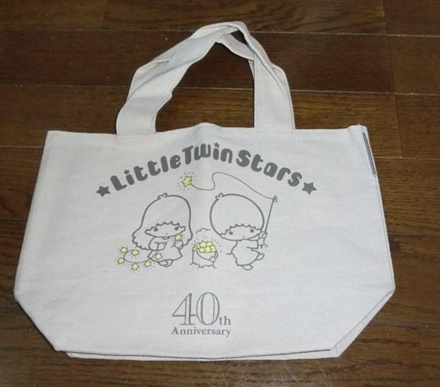LittleTwinStars 40th アニバーサリーブック ミニバケツトート