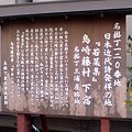 藤村先生の下宿跡