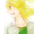 写真: 【向日葵】目を、惹いてやまない姿。 数日前に言ってた光に透ける感じの絵……になってる、かな? #100e