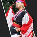 """写真: 京町・新京橋""""ゑびすしばてん連""""_スーパーよさこい2008_02"""