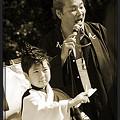 写真: 江戸の華_東京大マラソン祭り2008_sepia
