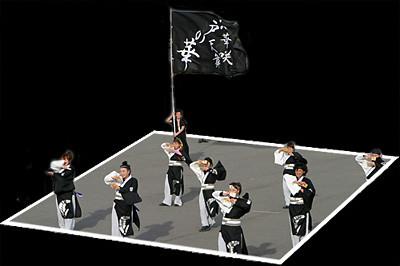 江戸の華_東京大マラソン祭り2008_b2