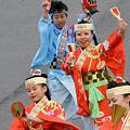 写真: 原宿よさこい連_東京大マラソン祭り2008_33