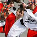 """写真: 早稲田大学 """"踊り侍""""_東京大マラソン祭り2008_25"""