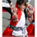 """写真: 早稲田大学 """"踊り侍""""_東京大マラソン祭り2008_bf2"""