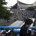 写真: Perfumeライブに向かう人@代々木体育館01