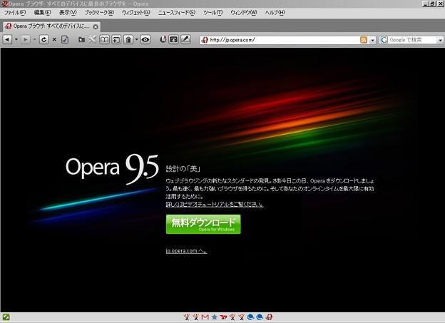 写真: Operaスキン「Bizkit Leopard for Opera 9.5」