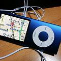 写真: iPod nanoの機能案:GPS + タッチディスプレイ