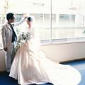 結婚式後のロケーション撮影