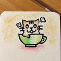 写真: Hanko_Neko_Cup_1