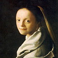 写真: フェルメール-少女1667