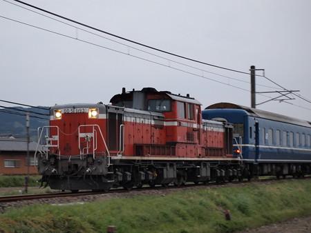 DD51+24系 天理臨 機関車流し 桜井線天理~櫟本