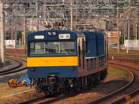 クモル145系回送 東海道本線岸部駅2