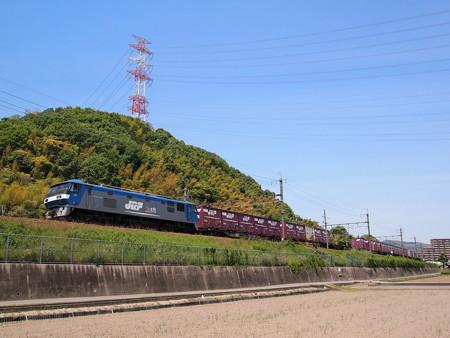 EF210貨物 東海道本線島本~高槻