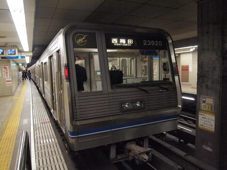 大阪市営地下鉄20系 四つ橋線大国町駅