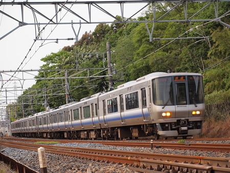 223系快速 阪和線杉本町~浅香
