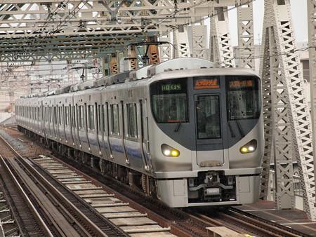 225系関空・紀州路快速 大阪環状線大正駅01
