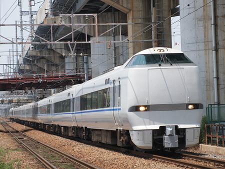 683系回送 北方貨物線塚本信号場~宮原操車場01