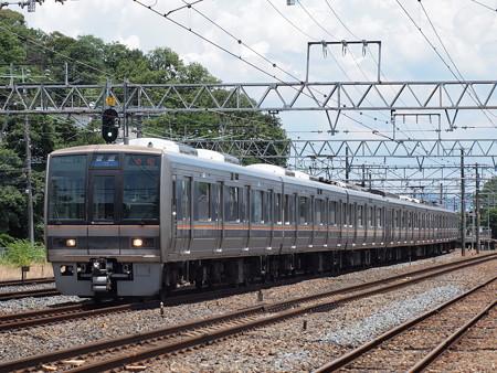 207系普通 東海道本線島本~山崎