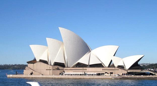 写真: シドニー オペラハウス