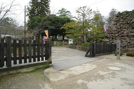 松江城三ノ門跡