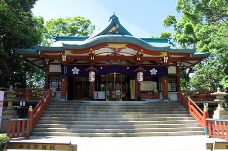 多摩川浅間神社拝殿