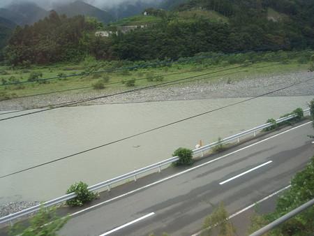 身延線車窓(井出駅界隈)