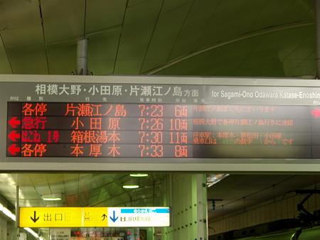 案内板(小田急線町田駅)