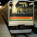 205系川越線(川越駅)