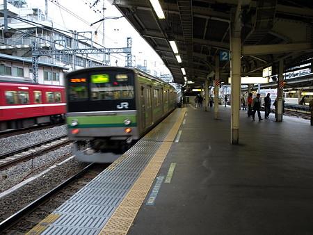 205系横浜線(横浜駅)