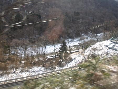 吾妻線の車窓(川原湯温泉から長野原草津口)
