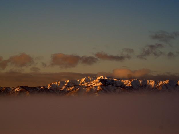 北の夕刻07-天上の嶺1