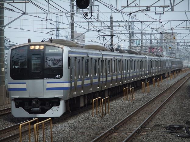 横須賀・総武快速線E217系 Y-123編成他15両編成