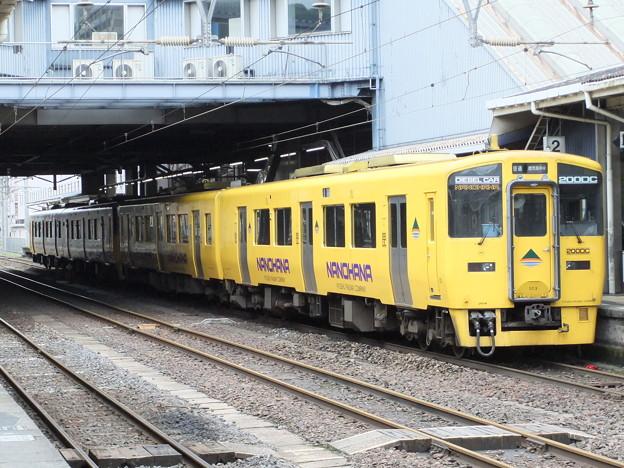 指宿枕崎線キハ200系 キハ200-503+キハ200-1503【なのはな】