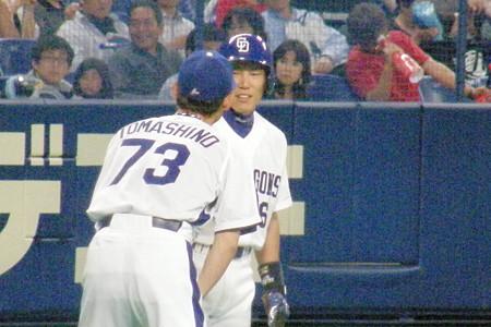69 3塁コーチャーは苫篠さん