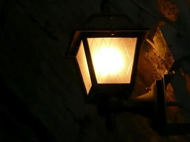 旧天城トンネルの照明