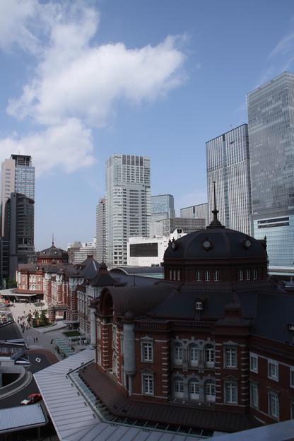 JPタワーから、東京駅 2 5月1日