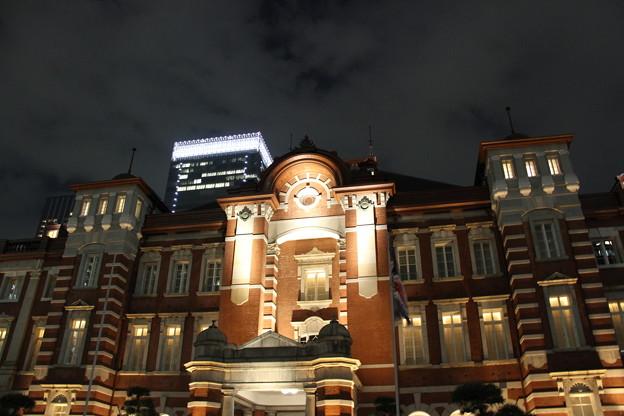 東京駅 夜景 2 5月1日