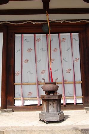 新薬師寺本堂テンプルカーテン
