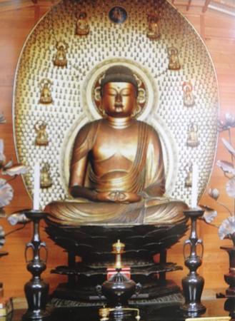 吉田寺 本尊丈六阿弥陀坐像2014年02月17日_P2170916