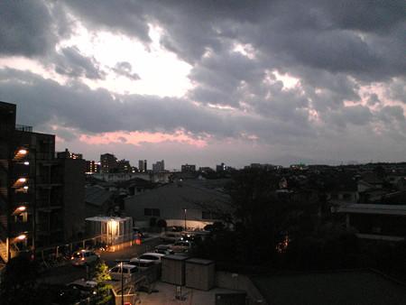 藤沢の夕刻