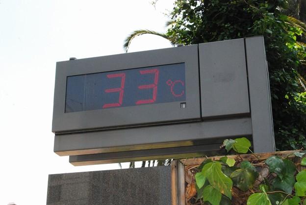 体感温度は33℃その1