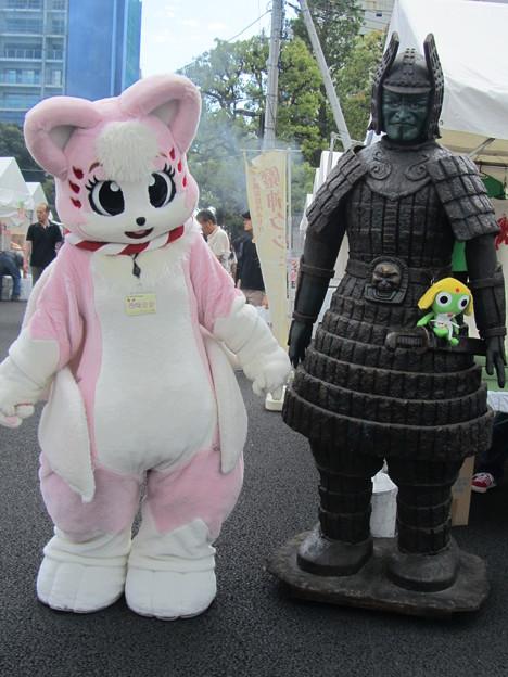 柴崎さきちゃんと大魔神