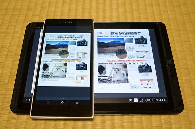 Sony Readerで雑誌を読む