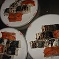 Photos: 20080628安布里トロ鯖とスモークサーモンの押し寿司