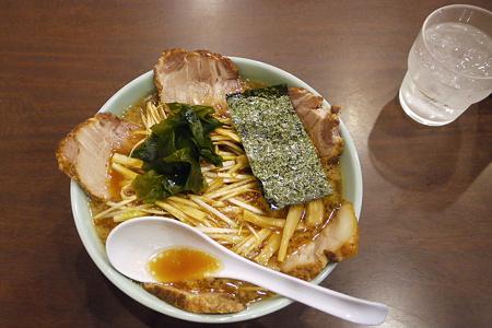 醤油とんこつネギチャーシュー麺