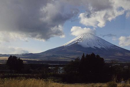 元旦の霊峰富士