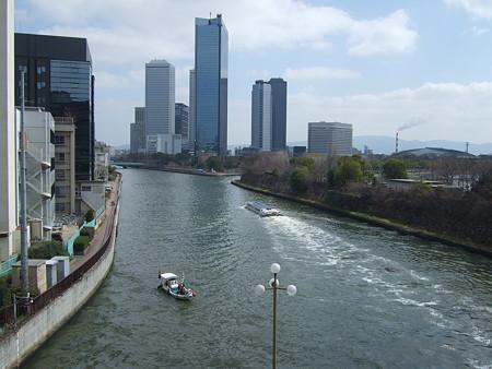 大阪橋から