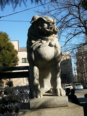 今戸神社の狛犬