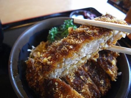 お食事処 七福 ソースカツ丼 カツアップ